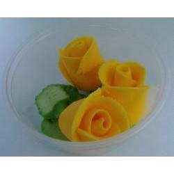 Ruža stredná žltá