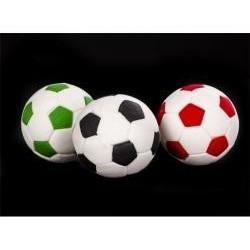 Dekorácia futbalová lopta červená