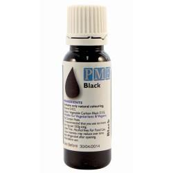 Farba tekutá Black