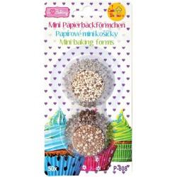 Cukrárske košíčky na pralinky P808