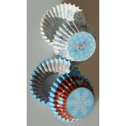 Cukrárske košíčky na pralinky P804