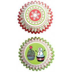 Cukrárske košíčky na pralinky P801