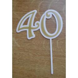 Zápich číslo 40