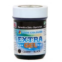 Farba gelová extra čierna
