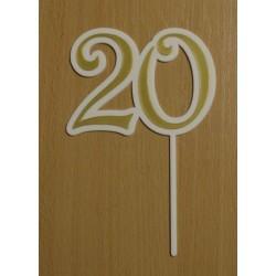 Zápich číslo 20