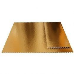 podnos zlato čierny pevný 30x40