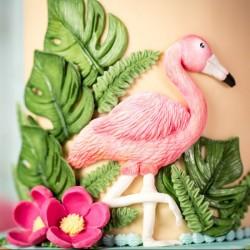Silik. forma tropické vtáky KD