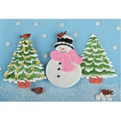 Veľký snehuliak a strom - dopredaj