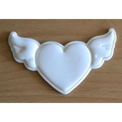 Vykrajovačka pl. srdce s krídlami