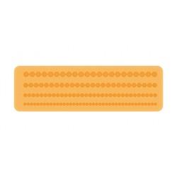 Silikónová bordúra koráliky