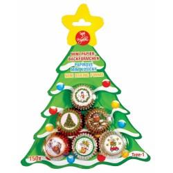 Cukrárske košíčky na pralinky Tree-1