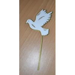 Zápich holubica biela