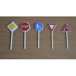Dekorácia dopravné značky I.