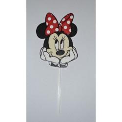 Dekorácia Minnie Mouse zápich