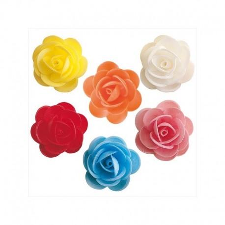 Dekorácia z jedlého papiera ruža