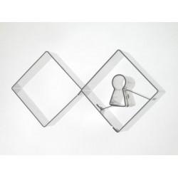 Dvojsada štvorec a kľúč