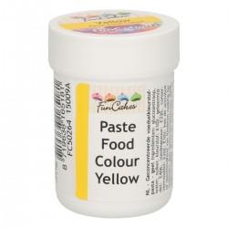 Farba gelová FunCakes žltá
