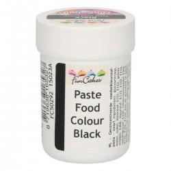 Farba gelová FunCakes čierna