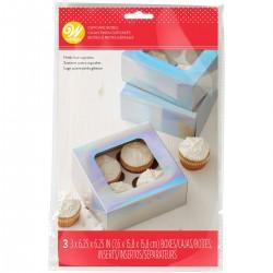 Krabička na cupcake 3ks