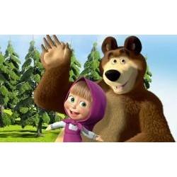 Vafla Máša a medveď 4