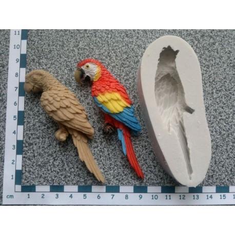 Silikónová forma papagáj