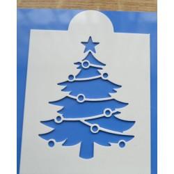 Stencil stromček I.