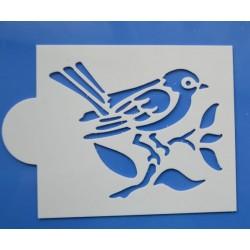 Stencil vtáčik