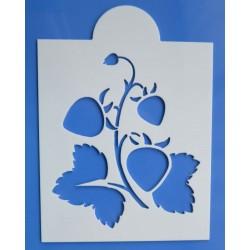 Stencil jahody
