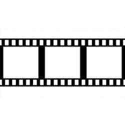 Silikónová pečiatka filmstrip