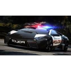 Vafla policajné auto