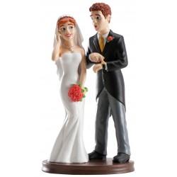Figúrka svadobná 305007