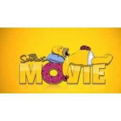 Vafla Simpson na žltom