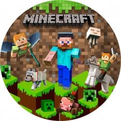 Jedlý obrázok Minecraft