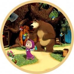 Vafla Máša a medveď 1