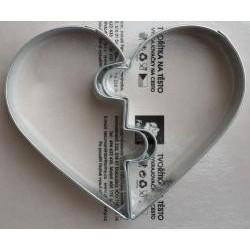 Vykrajovačka valentínske srdce