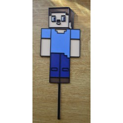 Dekorácia Minecraft zápich