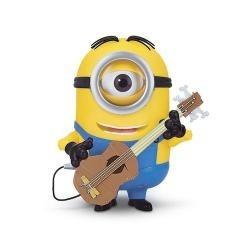 Vafla Mimoň jednooký s gitarou