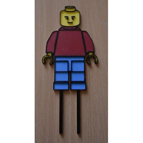 Dekorácia Lego panáčik zápich