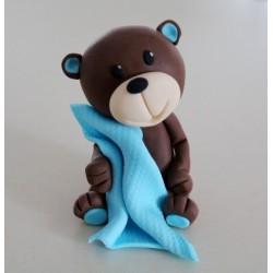 Medvedík s dečkou