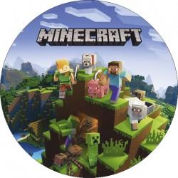 Jedlý obrázok Minecraft I.