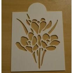 Stencil kvet IV.