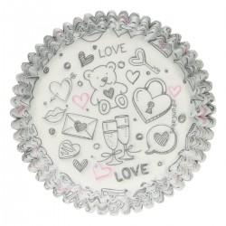 Cukrárske košíčky Love