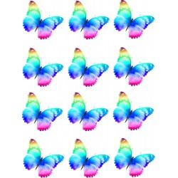 Jedlý obrázok motýle