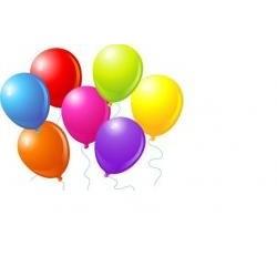 Balóny farebné č.9