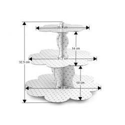 Papierový stojan bodky