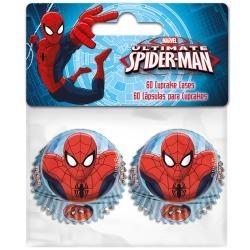 Cukrárske košíčky spiderman malé